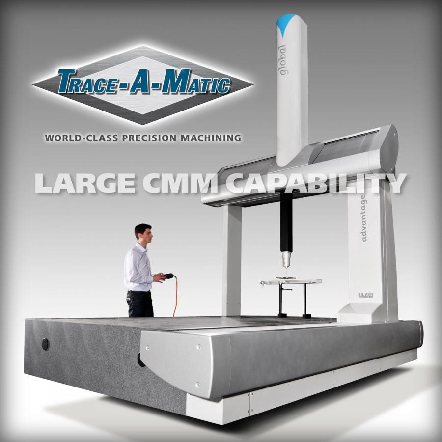 New Large Part Coordinate Measuring Machine (CMM) Installation