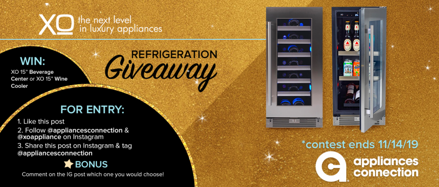 Appliances Connection 2019 Black Friday XO Giveaway