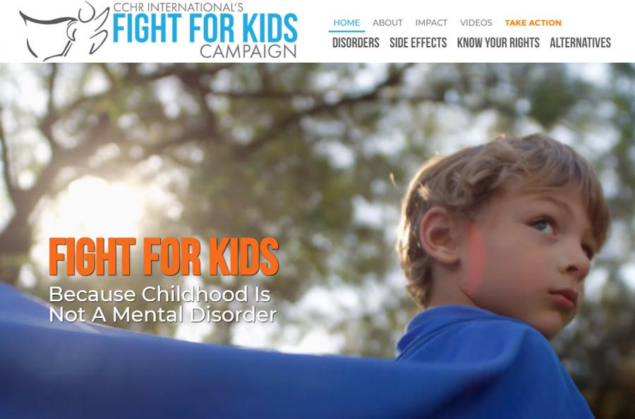 With documents revealing an astounding 622,723 U.S. children aged 0-5 prescribed powerful mind-altering drugs, a mental health watchdog launches campaign to Fight For Kids right to grow up label and drug free.