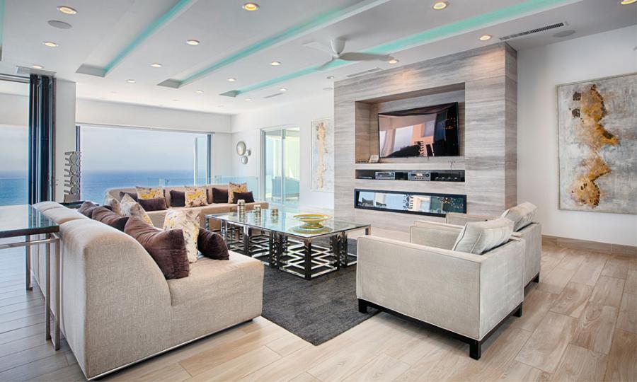 Grand Living Room in Villa Lands End Cabo