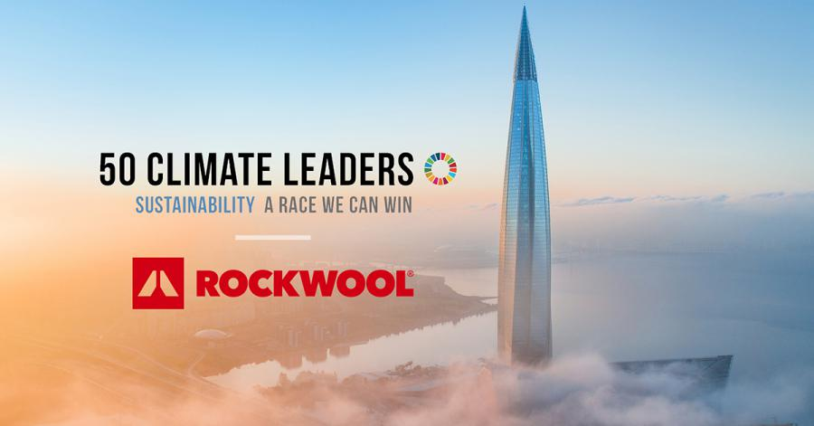 ROCKWOOL selected to join 50 Climate Leaders Campaign