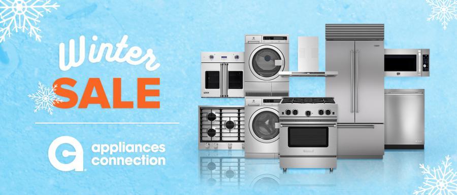 Appliances Connection 2020 Winter Sale Banner