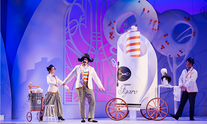 Rossini's masterful comedy The Barber of Seville comes to the Vancouver Opera