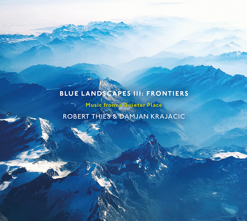 Blue Landscape mountainous album cover