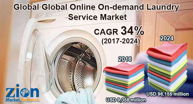 Online On-Demand Laundry Service Market
