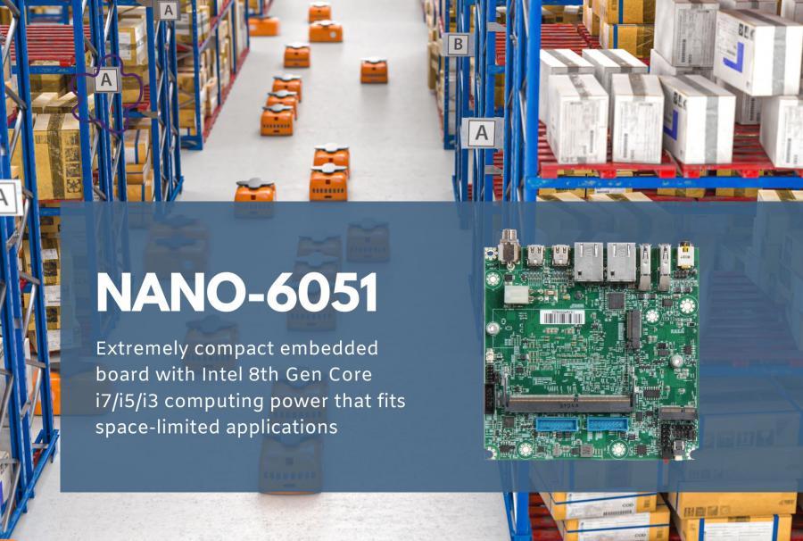 Portwell's new NANO-ITX Board - NANO-6051