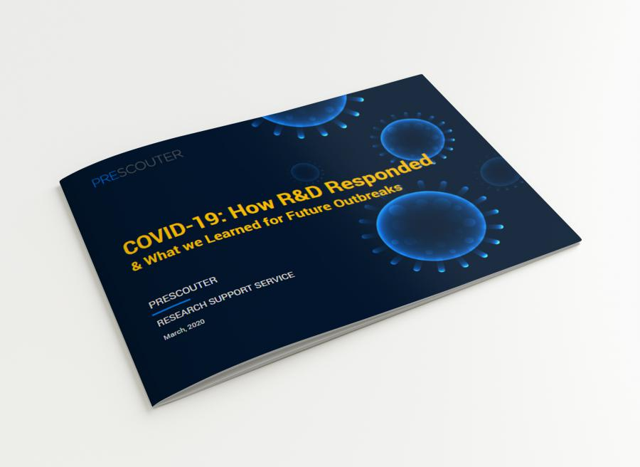 Cover image of the second COVID-19 report