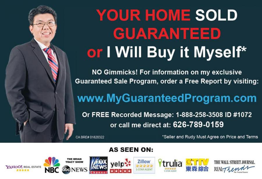 Rudy Lira Kusuma ranked the #1 Top Rated Real Estate Agent in California