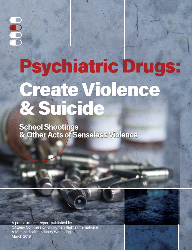CCHR campaign launched to educate law enforcement, policy makers and school officials about violence- and suicide-inducing drug risks