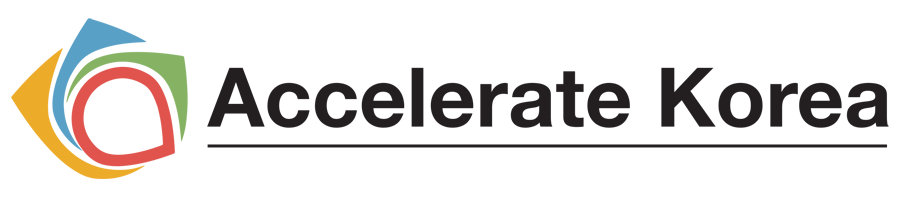 Accelerate Korea Logo, organiser of FutureBlock Symposium