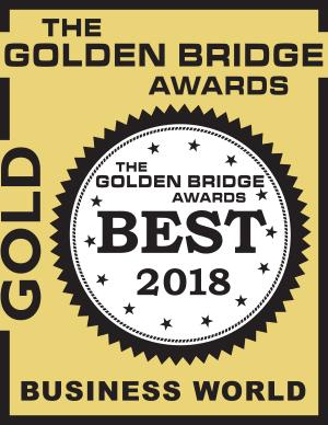 Golden Bridge Award 2018 Gold Winner Logo