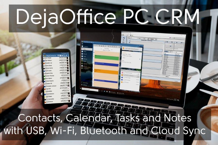 DejaOffice PC CRM Palm Desktop Replacement