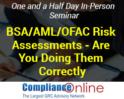 BSA/AML/OFAC Risk Assessments
