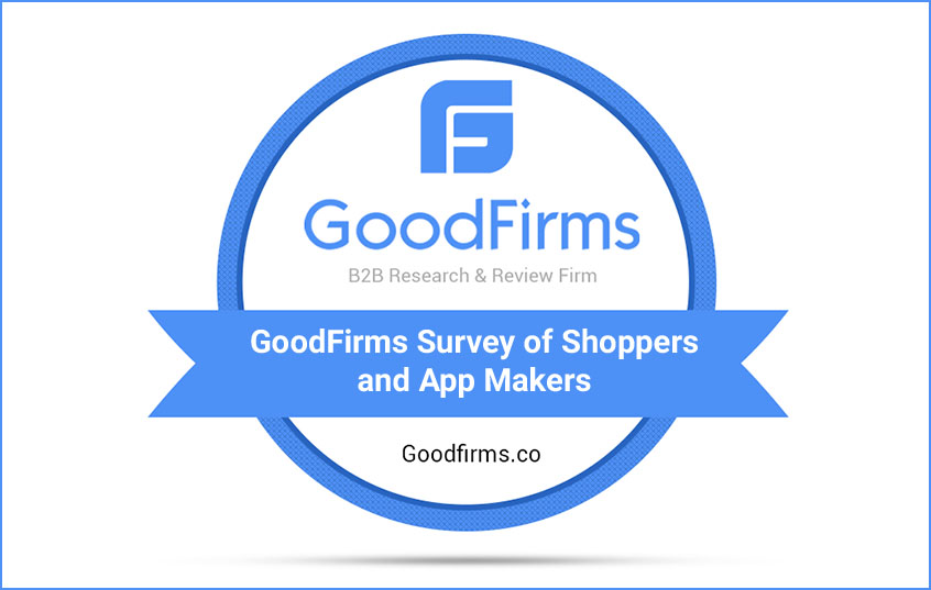 GoodFirms Survey of Shoppers and App Makers