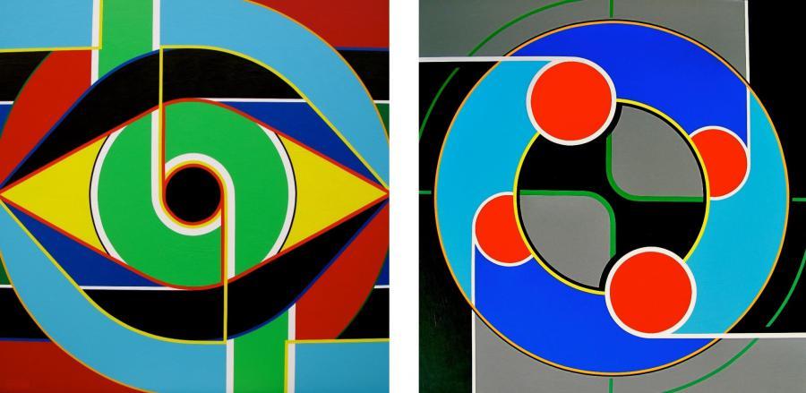 Paintings by José Fontaiña