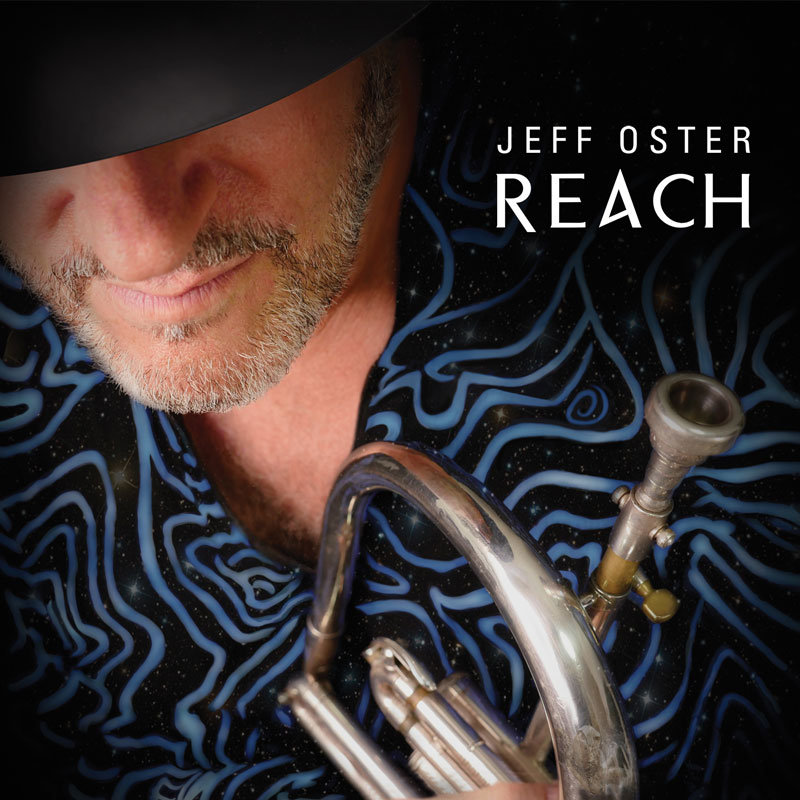 Cover image of REACH album by Jeff Oster