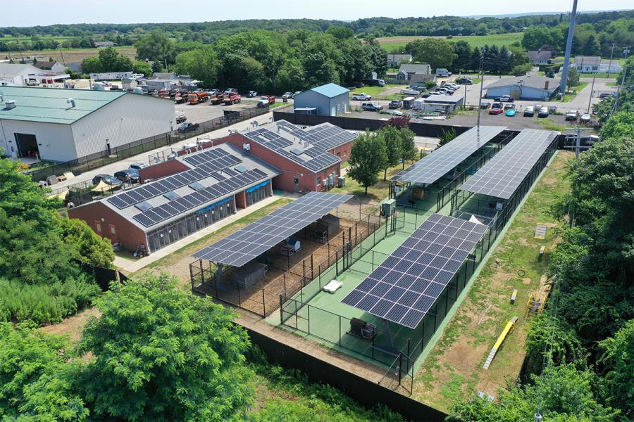 Town Of Southold And Sunation Solar Systems Partner On