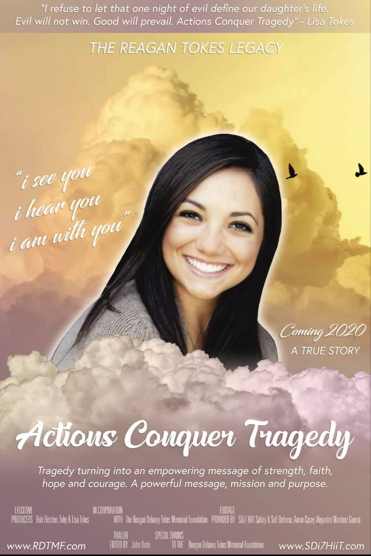 Movie trailer Actions Conquer Tragedy. The Reagan Tokes Legacy