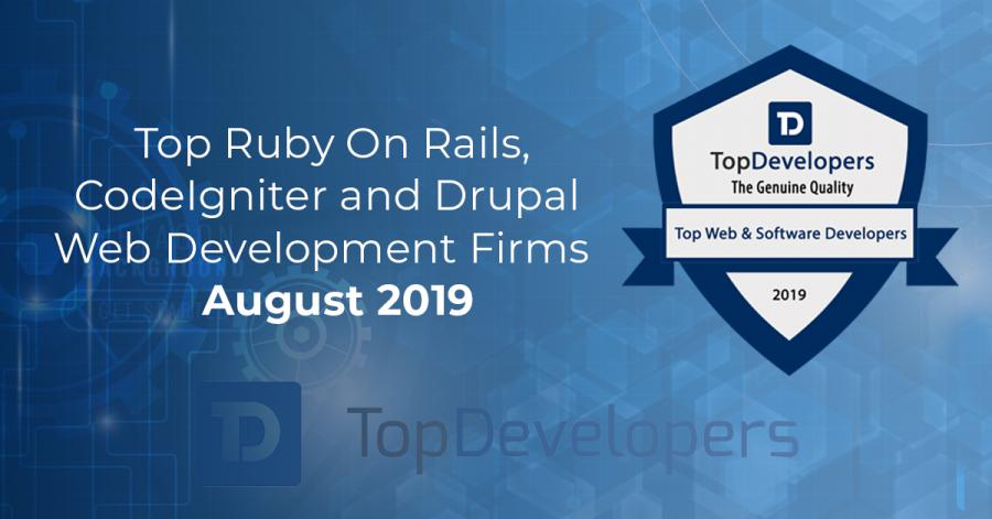 Top CodeIgniter, Drupal and Ruby on Rails Developers for  2019