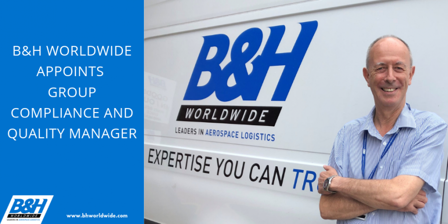 B&H Worldwide Appoints Group Compliance and Quality Manager