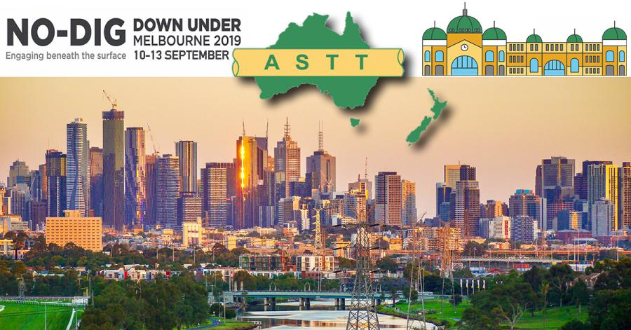 No-Dig Down Under, Melbourne, Australia, 10-13 September 2019, 13th Annual Australia Society of Trenchless Technologies Conference and Exposition.