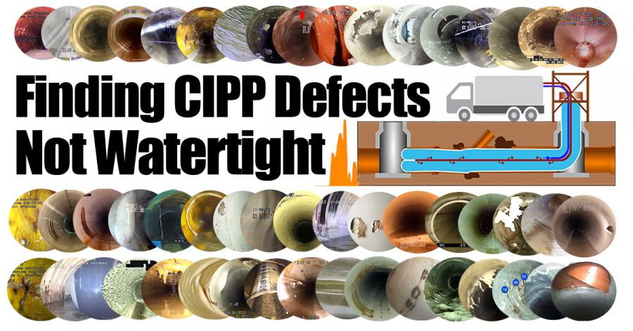 Widespread Use of Cured-In-Place Pipe (CIPP) for Trenchless Rehabilitation Results in Increase Demand for Early Warning QA/QC of Leaks, Pinholes, and Liner Permeability.