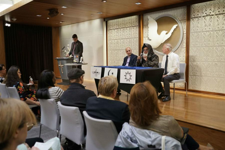 An interfaith forum at the Church of Scientology Los Angeles featured religious leaders of faiths born in the Middle East.
