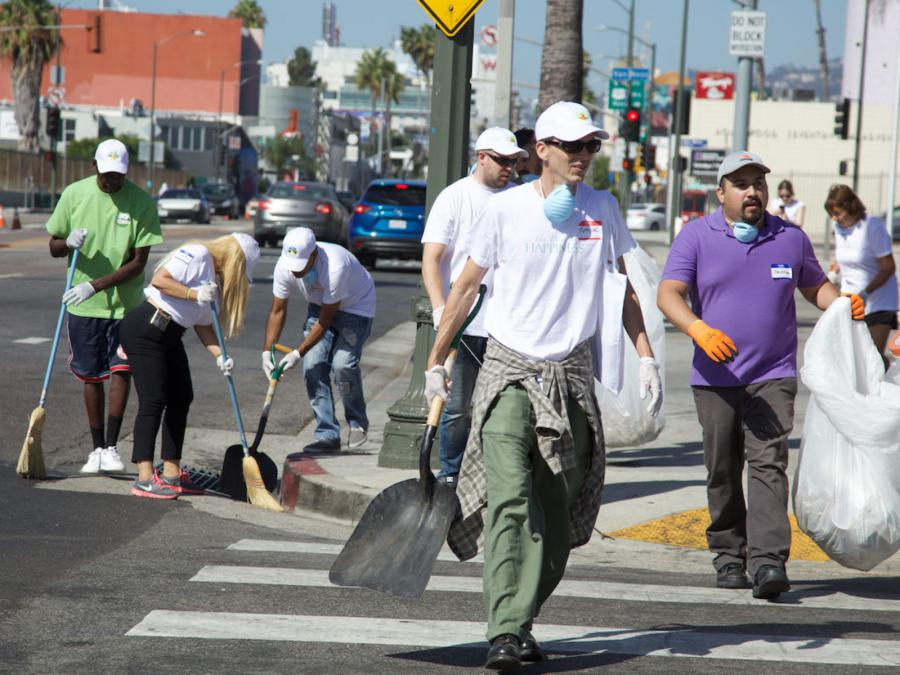 The September cleanup of Hollywood Village brought together 120 volunteers in the name of a cleaner, safer Hollywood.