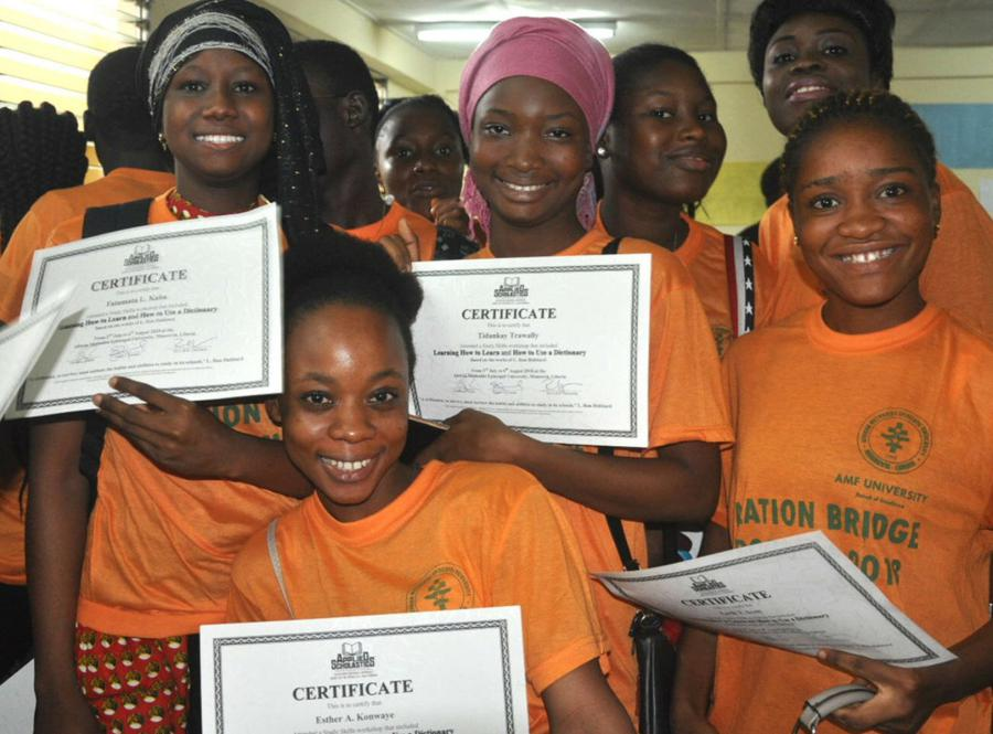 Applied Scholastics African Literacy Project in West Africa aims to spark and sustain a literacy movement through the region.
