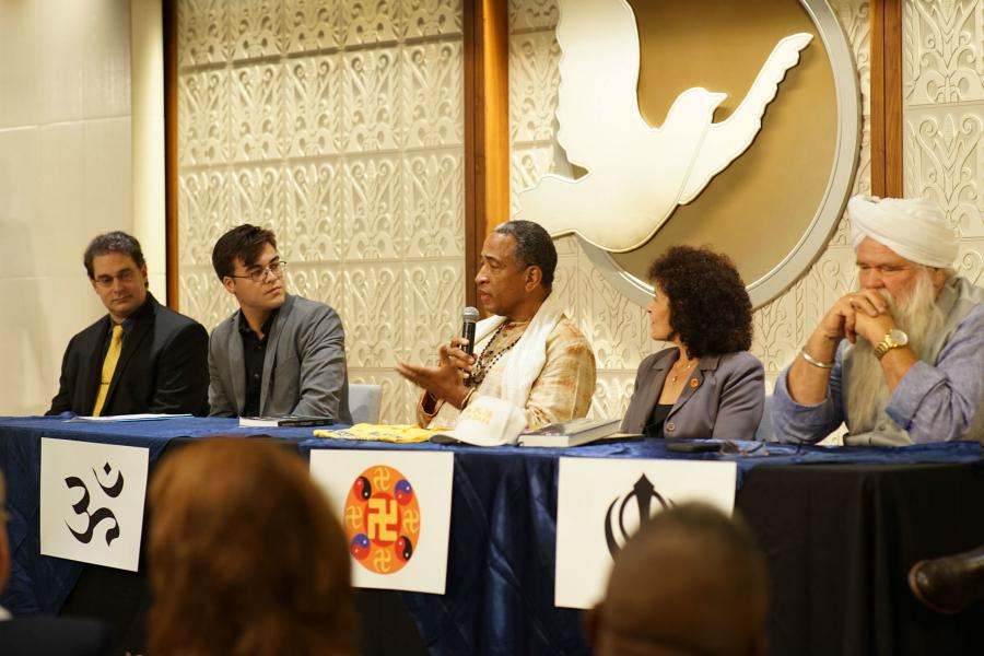 The finale of the four-week series on religious diversity featured religious leaders of Eastern faiths.