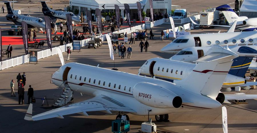 Nearly 50 IADA member companies are exhibiting in the Las Vegas Convention Center or at Henderson Executive Airport during the 2019 NBAA-BACE.