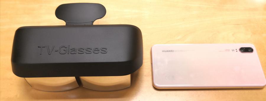 """iGlass USA's 300"""" UltraSharp TV-Glasses"""
