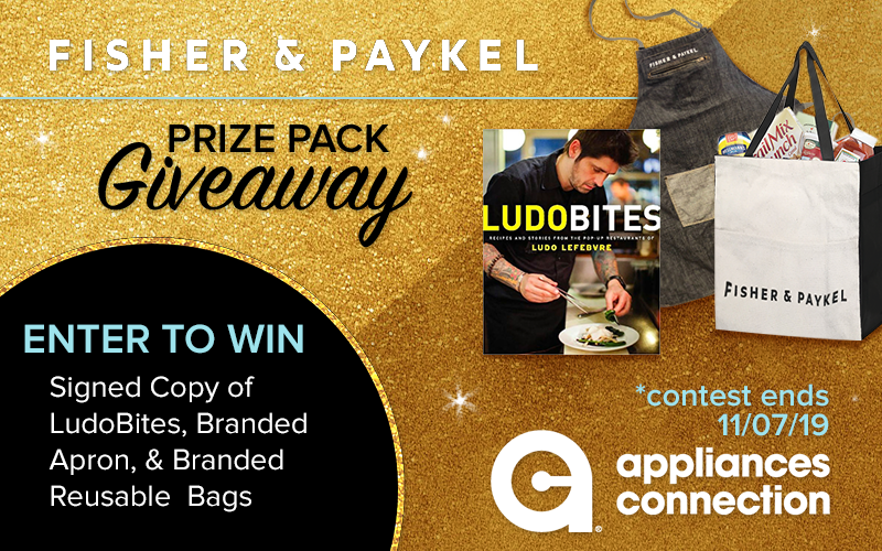 Appliances Connection's 2019 Black Friday Fisher & Paykel Giveaway