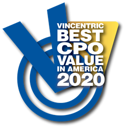 Vincentric 2020 Best CPO Value in America Logo