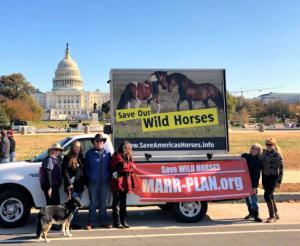 Marr Plan Advocates in front of the U.S. Capitol