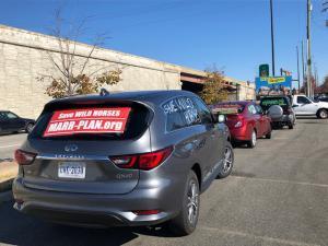 Marr Plan Motorcade en route to Richmond