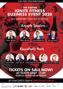Fitness Business Event Melbourne