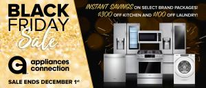 The Appliances Connection 2019 Black Friday Sale Ends 1 December: Instant Savings