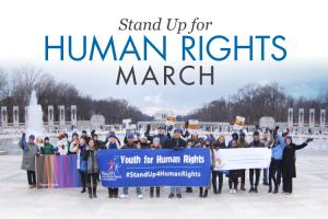 This upcoming Sunday, December 8th, 2019, at 1 pm Youth for Human Rights DC Chapter will lead a march in honor of the 71st Anniversary of the United Nations Universal Declaration of Human Rights