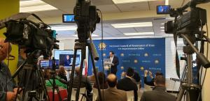 Media attended NCRI Washington office for Iran uprising press conference