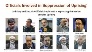 Call to hold to account Iranian regime officials involved in suppression of uprising