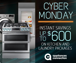 Appliances Connection 2019 Cyber Monday Sale: Vertical