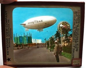 Chicago World's Fair Good Year Blimp - 1933