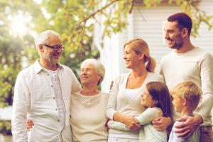 Happy Family with a Reverse Mortgage