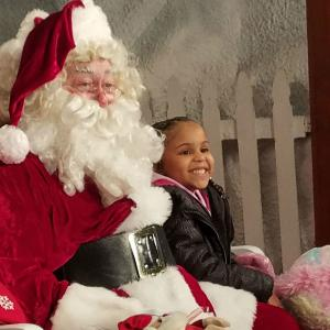 Kids take the opportunity to give their personal message to Santa.