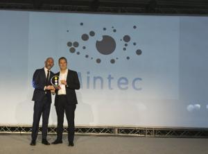 Spencer_Wicks_collecting_Digital_Technology_Award_EBA_Mintec