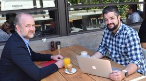 Assemblo founders James McInerney and Steve de Niese