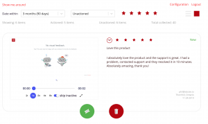 Docsie Vocally managers helps it's users action visual product feedback.