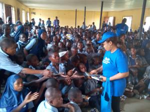 Human rights class in Nigeria