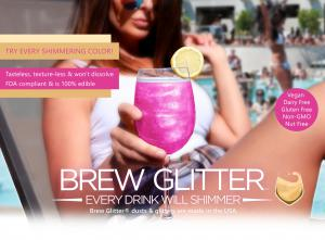 Brew Glitter® is the #1 edible glitter for beer, cocktails, wine and other drinks | www.brewglitter.com